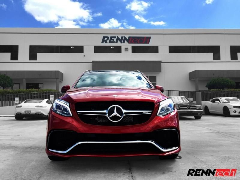 2016er Mercedes GLE63 S AMG X166 Chiptuning 688PS 1020NM Renntech 2 2016er Mercedes GLE63 S AMG X166 mit 688PS & 1020NM by Renntech