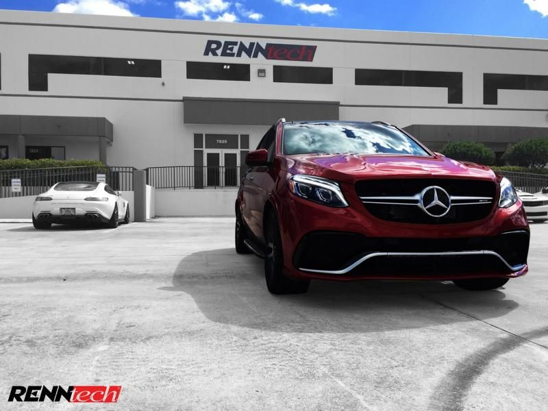 2016er Mercedes GLE63 S AMG X166 Chiptuning 688PS & 1020NM Renntech 5