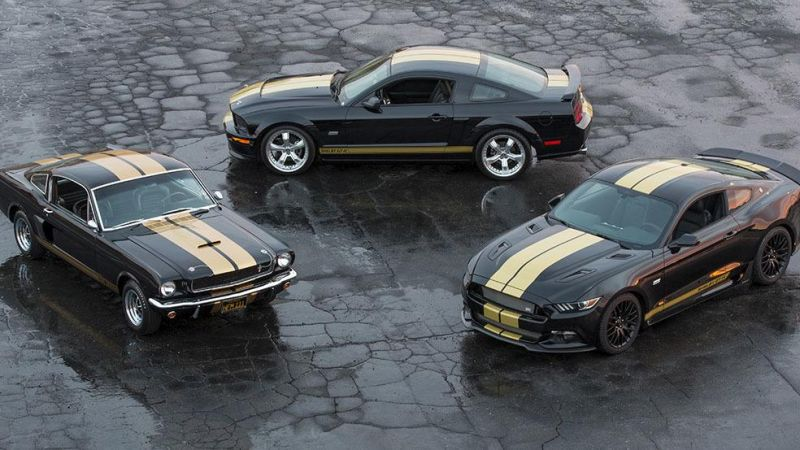 2016er Shelby GT H Ford Mustang Tuning 2 2016er Shelby GT H Mustang   limitierte Edition vorgestellt