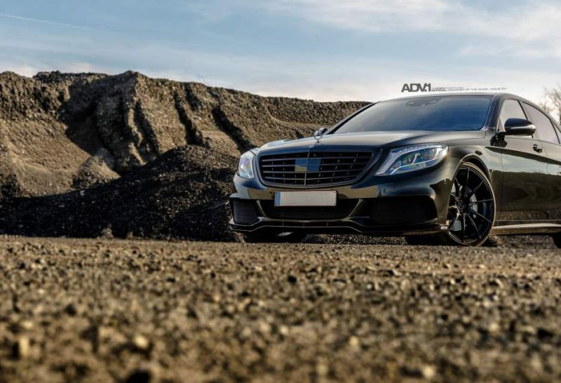 21 Zoll ADV10 Alu%E2%80%99s Mercedes Benz S63 AMG W222 Tuning 8 Top   21 Zoll ADV10 Alu's am Mercedes Benz S63 AMG W222