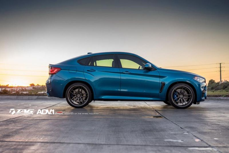 22 Zoll ADV.1 Wheels Typ ADV005 Tuning BMW X6M F86 2 22 Zoll ADV.1 Wheels Typ ADV005 am BMW X6M F86
