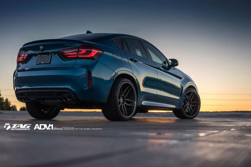 22 Zoll ADV.1 Wheels Typ ADV005 Tuning BMW X6M F86 3 22 Zoll ADV.1 Wheels Typ ADV005 am BMW X6M F86
