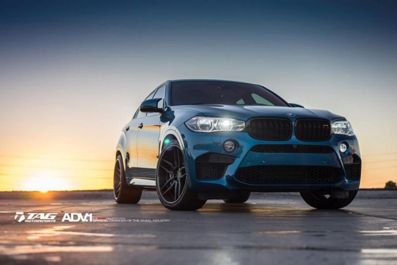 22 Zoll ADV.1 Wheels Typ ADV005 Tuning BMW X6M F86 4 22 Zoll ADV.1 Wheels Typ ADV005 am BMW X6M F86