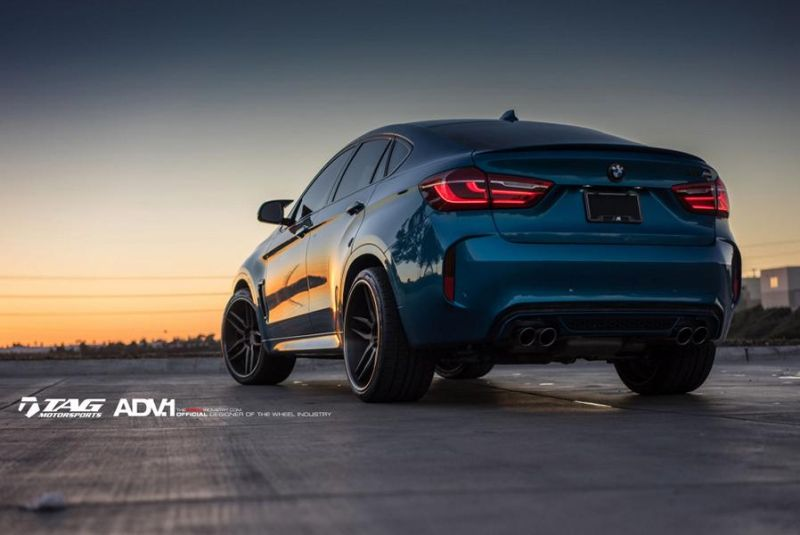 22 Zoll ADV.1 Wheels Typ ADV005 Tuning BMW X6M F86 5 22 Zoll ADV.1 Wheels Typ ADV005 am BMW X6M F86