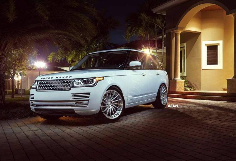 22 Zoll ADV15.RM .V2 Alu%E2%80%99s Range Rover Sport Tuning 5 22 Zoll ADV15.RM.V2 Alu's am Range Rover Sport in Weiß