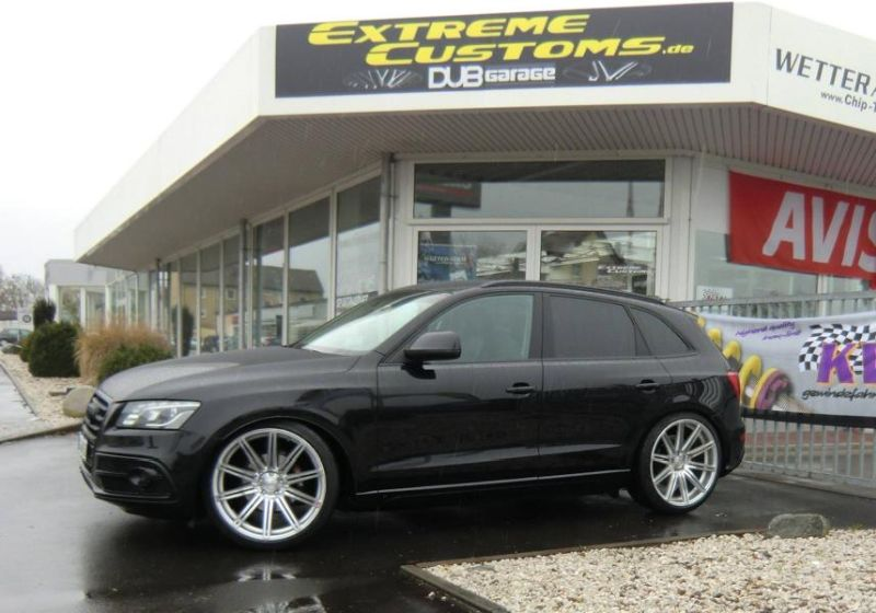 22 Zoll Vossen CV4 Alu%E2%80%99s Audi Q5 Extreme Customs Germany Tuning 2 22 Zoll Vossen CV4 Alu's am Audi Q5 von Extreme Customs Germany