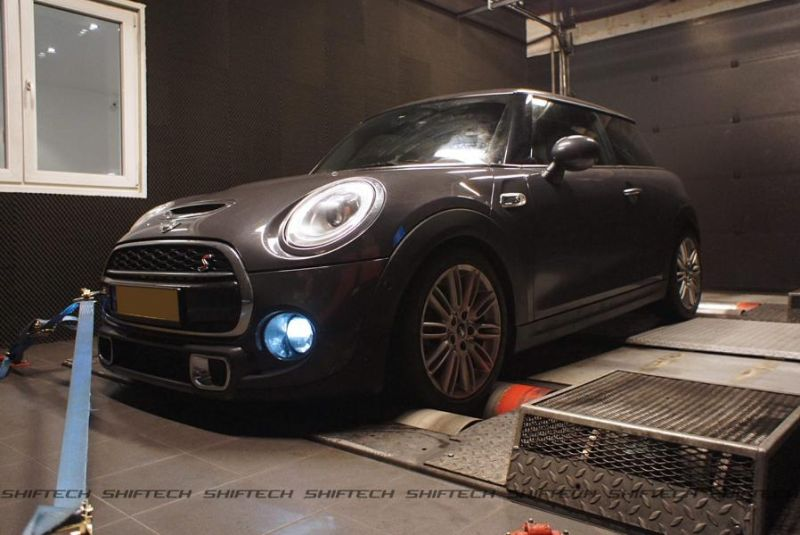 222PS & 460NM Mini Cooper SD Chiptuning ShifTech Luxembourg 2