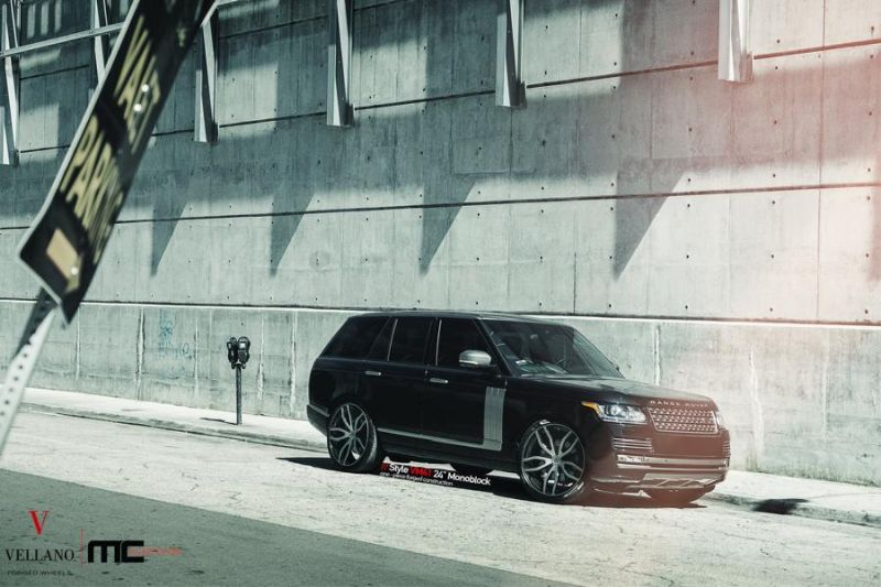 24 Zoll Vellano Forged Wheels VM41 Range Rover Sport 2 Vellano Forged Wheels VM41 am Range Rover Sport