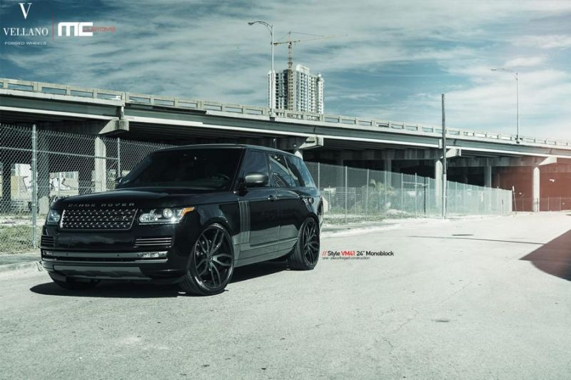 24 Zoll Vellano Forged Wheels VM41 Range Rover Sport 4 Vellano Forged Wheels VM41 am Range Rover Sport