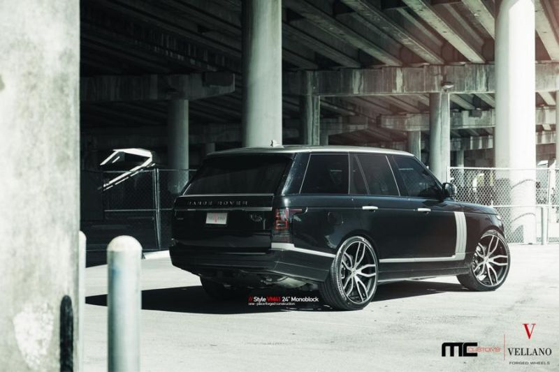 24 Zoll Vellano Forged Wheels VM41 Range Rover Sport 6 Vellano Forged Wheels VM41 am Range Rover Sport