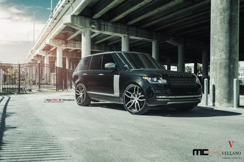 24 Zoll Vellano Forged Wheels VM41 Range Rover Sport 9 Vellano Forged Wheels VM41 am Range Rover Sport