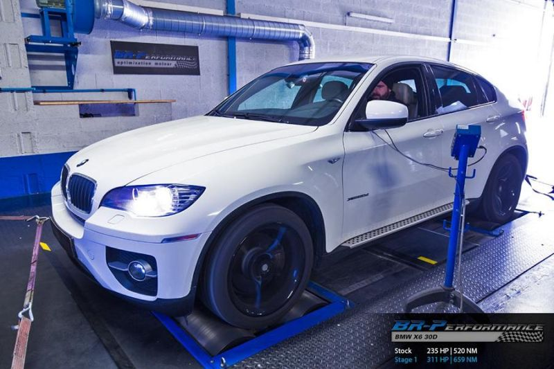 311PS BMW X6 E71 3.0D Chiptuning BR Performance 1
