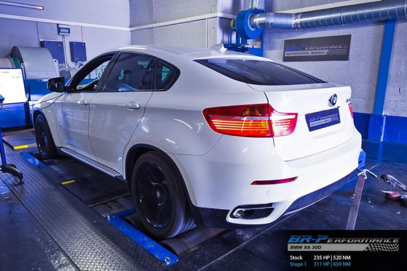 311PS BMW X6 E71 3.0D Chiptuning BR Performance 2 311PS & 659NM im BMW X6 E71 3.0D von BR Performance
