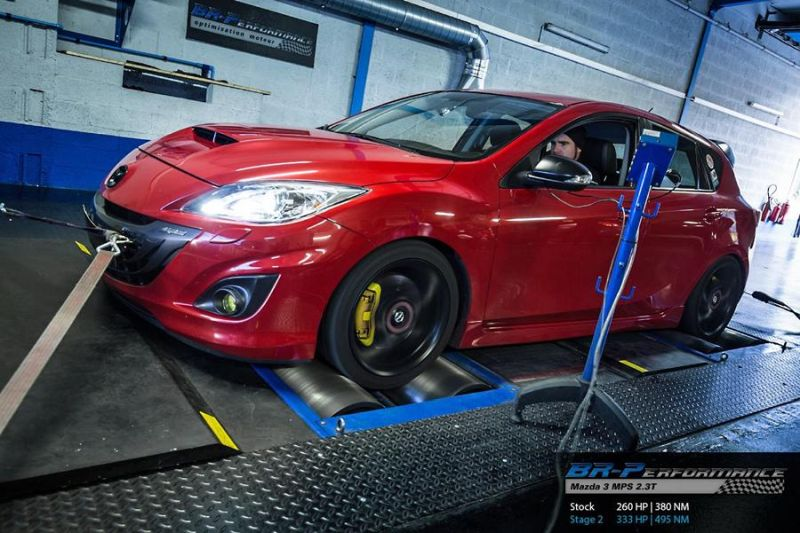 333PS Mazda 3 MPS 2.3T Chiptuning BR Performance Luxembourg 1 333PS im Mazda 3 MPS 2.3T von BR Performance Luxembourg