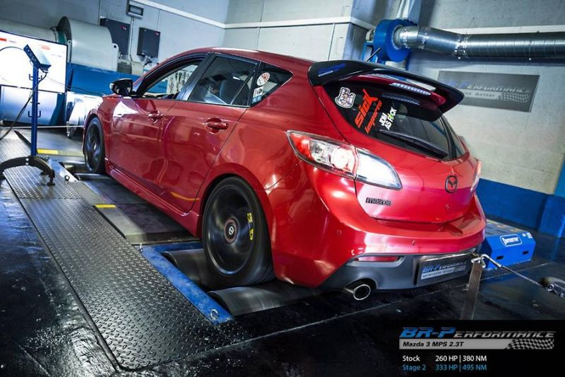 333PS Mazda 3 MPS 2.3T Chiptuning BR Performance Luxembourg 2 333PS im Mazda 3 MPS 2.3T von BR Performance Luxembourg