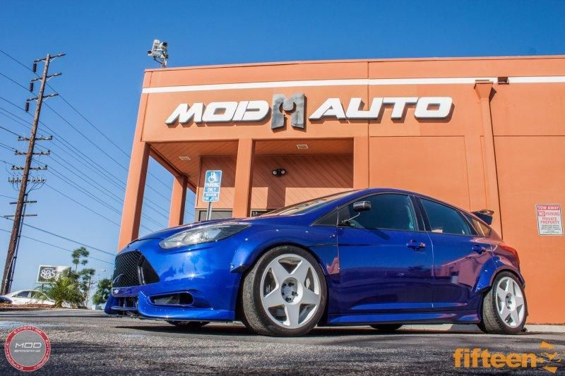 500PS Ford Focus ST TrackSTer Tuning ModBargains 13