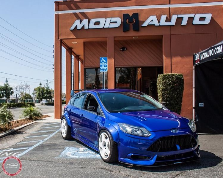 500PS Ford Focus ST TrackSTer Tuning ModBargains 17