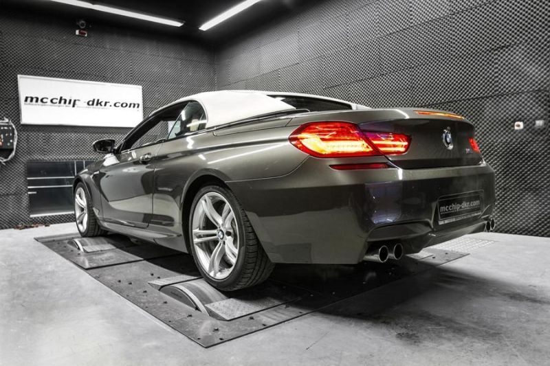 634PS 809NM BMW M6 F12 Cabrio 4.4 Bi Turbo Mcchip DKR Chiptuning 1 634PS & 809NM im BMW M6 F12 4.4 Bi Turbo by Mcchip DKR