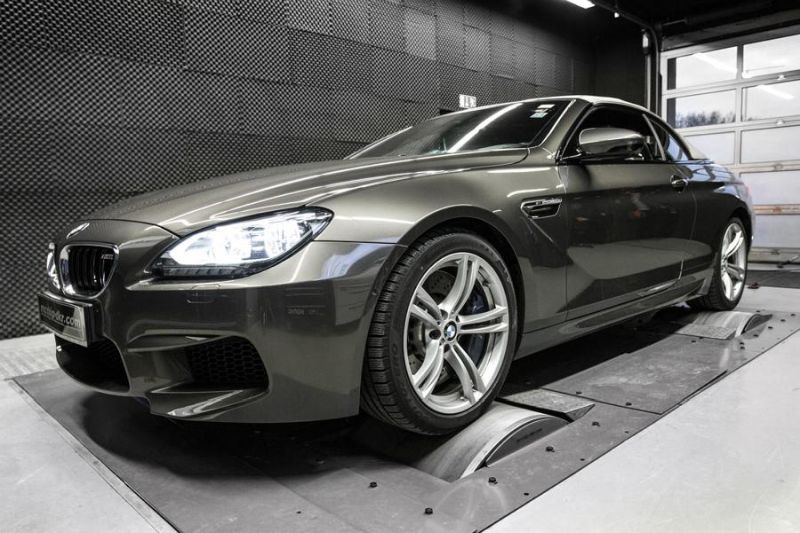 634PS 809NM BMW M6 F12 Cabrio 4.4 Bi Turbo Mcchip DKR Chiptuning 2 634PS & 809NM im BMW M6 F12 4.4 Bi Turbo by Mcchip DKR
