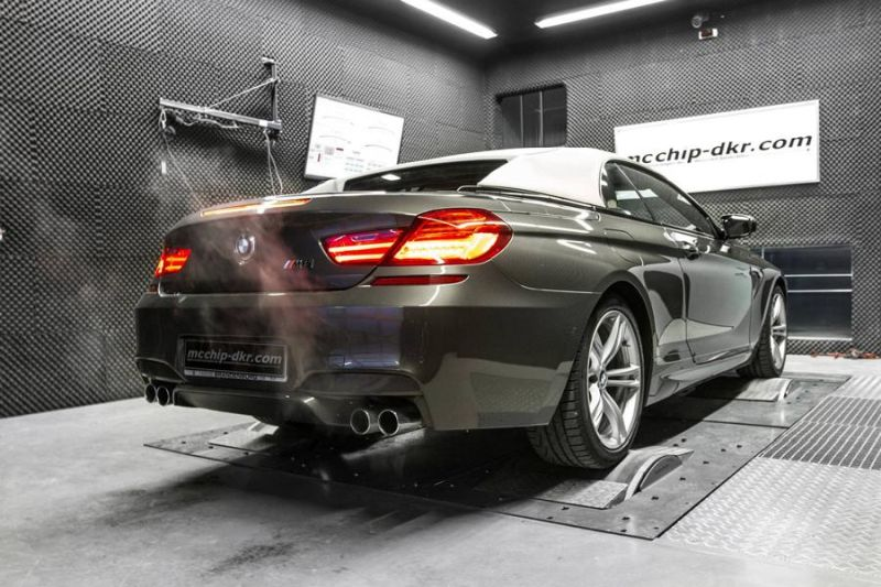 634PS 809NM BMW M6 F12 Cabrio 4.4 Bi Turbo Mcchip DKR Chiptuning 4 634PS & 809NM im BMW M6 F12 4.4 Bi Turbo by Mcchip DKR