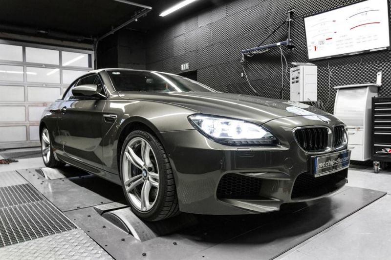 634PS 809NM BMW M6 F12 Cabrio 4.4 Bi Turbo Mcchip DKR Chiptuning 5 634PS & 809NM im BMW M6 F12 4.4 Bi Turbo by Mcchip DKR