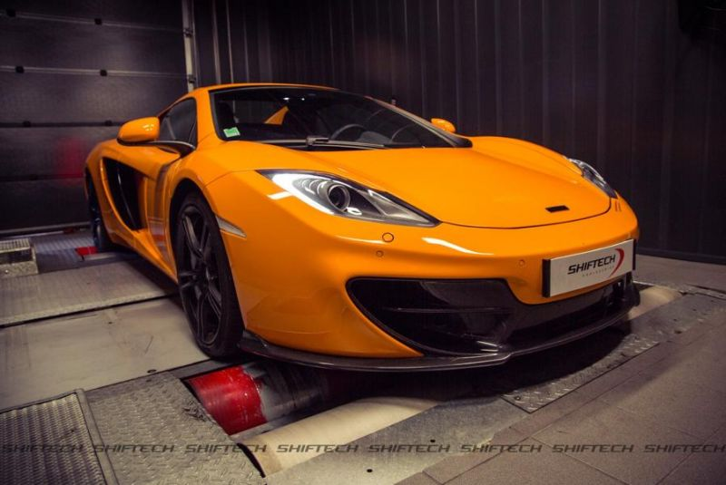 704PS Chiptuning McLaren MP4-12C Spider 50th Anniversary by Shiftech 2