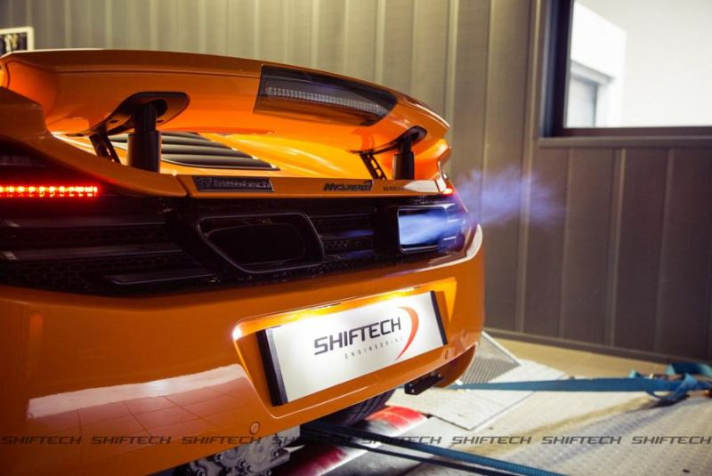 704PS Chiptuning McLaren MP4-12C Spider 50th Anniversary by Shiftech 3
