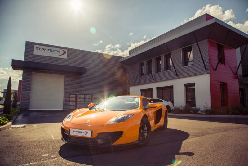 704PS Chiptuning McLaren MP4-12C Spider 50th Anniversary by Shiftech 4