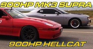 900PS Toyota Supra MK3 900PS Dodge Challenger Hellcat Tuning e1457931435145 310x165 Video: Dragerace   900PS Toyota Supra gegen 900PS Dodge Challenger Hellcat