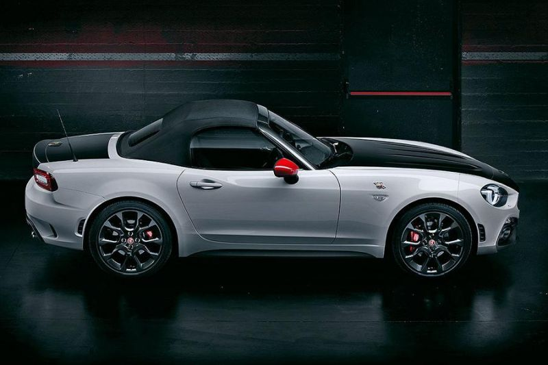 abarth 124 spider 170ps fiat 124 cabrio pr sentiert. Black Bedroom Furniture Sets. Home Design Ideas