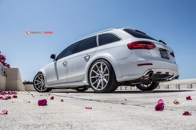 Audi A4 Allroad Vossen Wheels VFS1 Tuning Naples Speed 9 Damit ins Gelände? Audi A4 Allroad auf Vossen Wheels