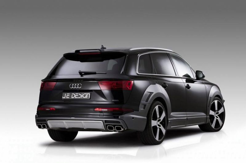 audi q7 4m s line widebody kit vom tuner je design. Black Bedroom Furniture Sets. Home Design Ideas