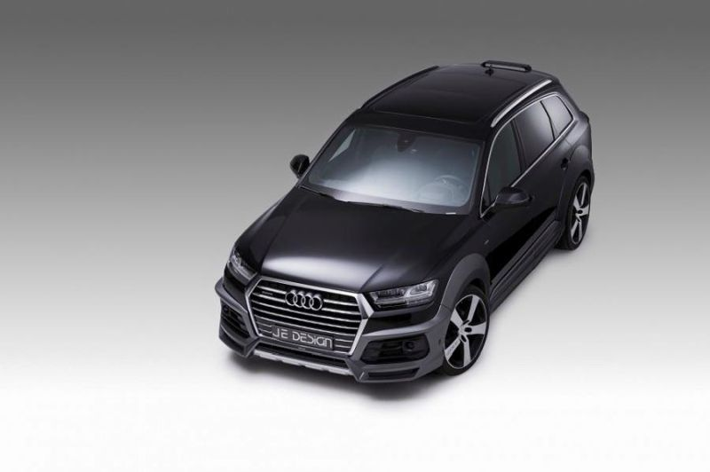 Audi Q7 4M SQ7 S Line WideBody Kit Tuning JE Design 8 Audi Q7 (4M) S Line WideBody Kit vom Tuner JE Design