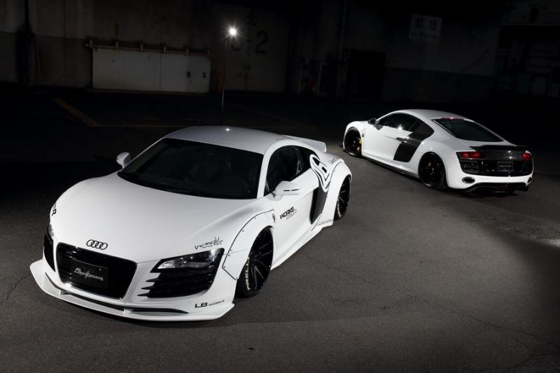 Audi R8 Tuning Artisan Spirits & Liberty Walk Widebody 1
