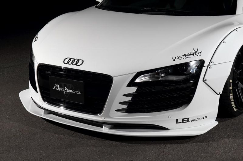 Audi R8 Tuning Artisan Spirits & Liberty Walk Widebody 8