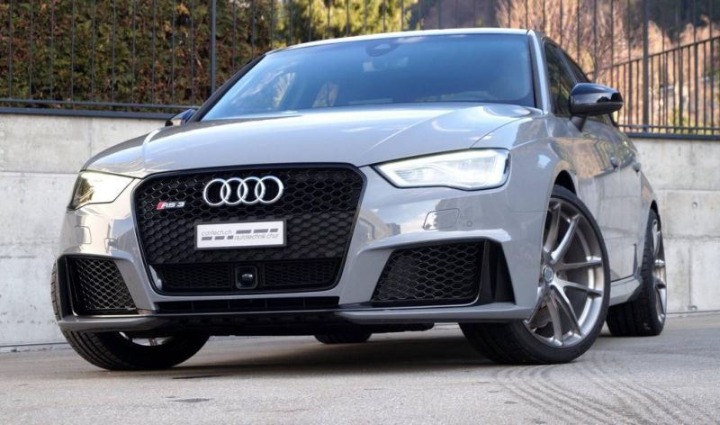 Audi RS3 Sportback HRE P104 Tuning cartech.ch 1 Audi RS3 Sportback auf HRE Performance Wheels P104