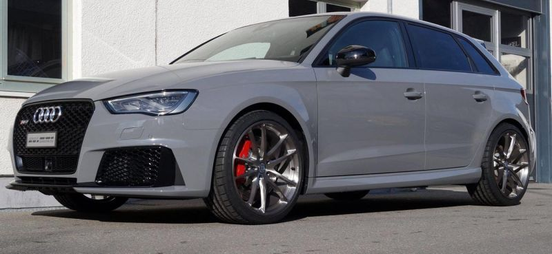 Audi RS3 Sportback HRE P104 Tuning cartech.ch 2 Audi RS3 Sportback auf HRE Performance Wheels P104