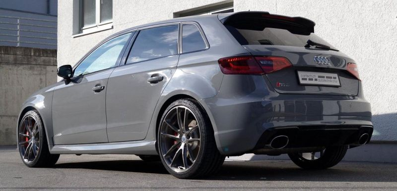 Audi RS3 Sportback HRE P104 Tuning cartech.ch 3 Audi RS3 Sportback auf HRE Performance Wheels P104