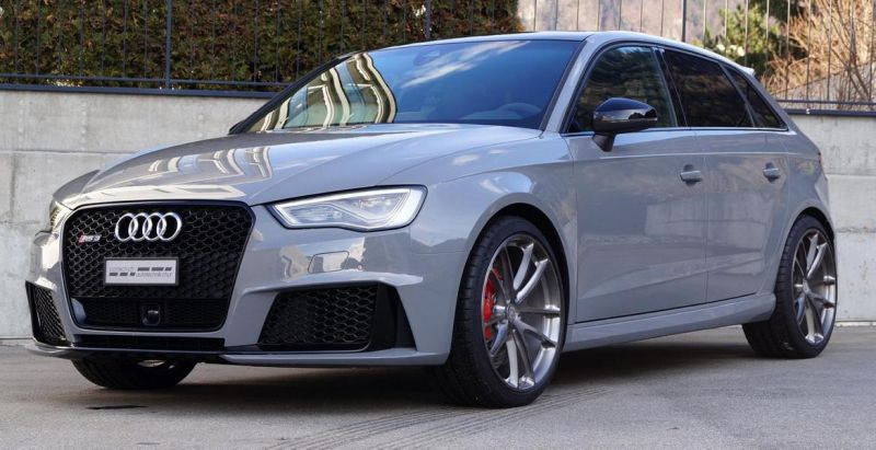 Audi RS3 Sportback HRE P104 Tuning cartech.ch 6 Audi RS3 Sportback auf HRE Performance Wheels P104