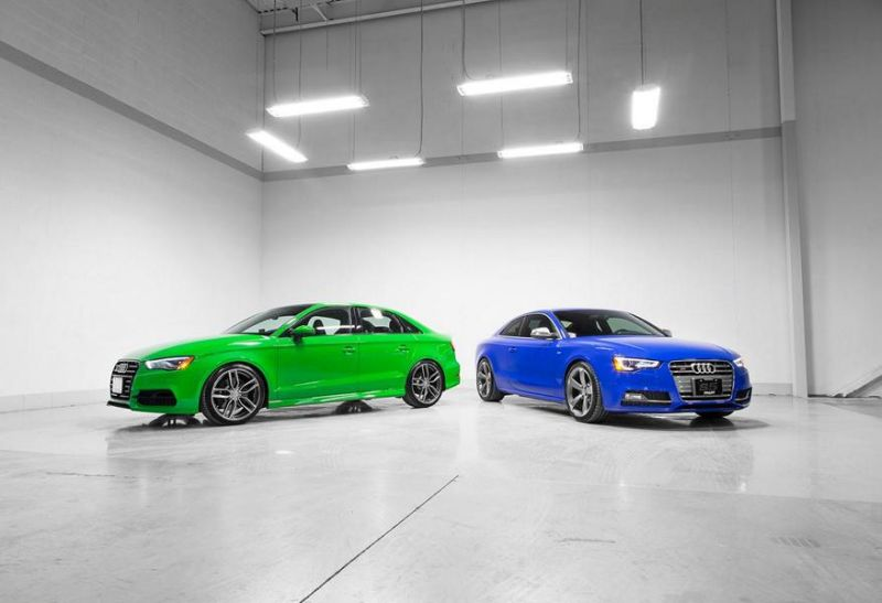 Audi S3 Limo S5 Coupe Pfaff Tuning H&R AWE 1