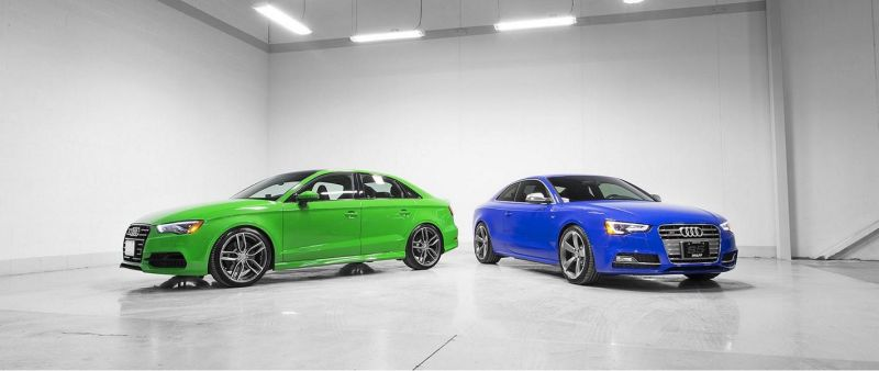 Audi S3 Limo S5 Coupe Pfaff Tuning H&R AWE 5