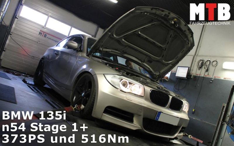 BMW 135i n54 Chiptuning 373PS 516NM by MTB Fahrzeugtechnik BMW 135i n54 mit 373PS & 516NM by MTB Fahrzeugtechnik