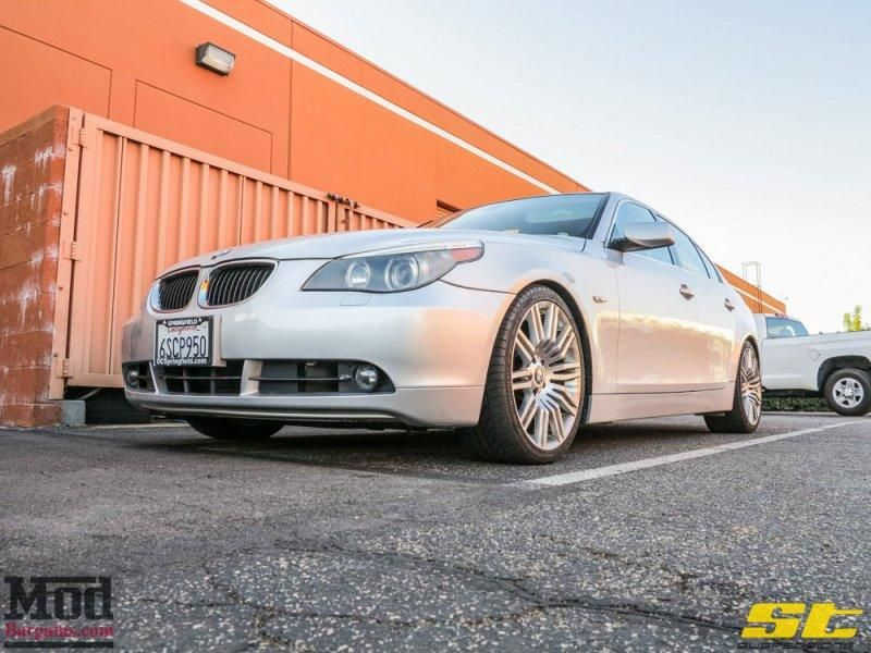 BMW E60 525i mit ST Suspension by ModBargains 2 Dezent   BMW E60 525i mit ST Suspension by ModBargains