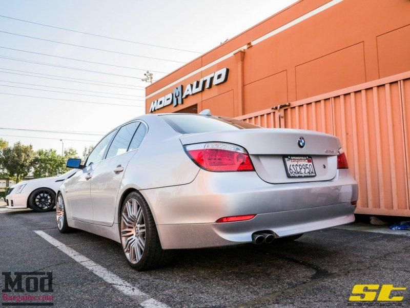 BMW E60 525i mit ST Suspension by ModBargains 5 Dezent   BMW E60 525i mit ST Suspension by ModBargains
