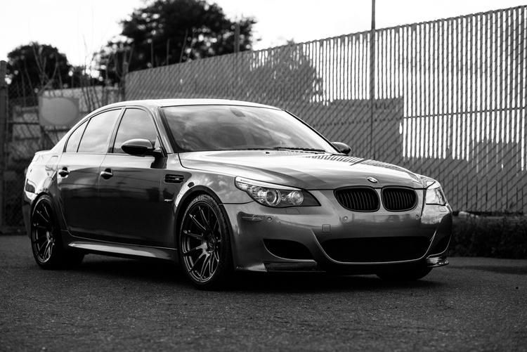 BMW E60 M5 V10 Performance Technic Inc. Tuning Dinan Evolve HRE 10 Dezentes Tuning   BMW E60 M5 V10 by Performance Technic Inc.