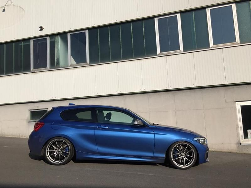 BMW M135i KW OZ Alu SK Automobildesign 1 Dezent   BMW M135i mit KW & OZ Alu's by SK Automobildesign
