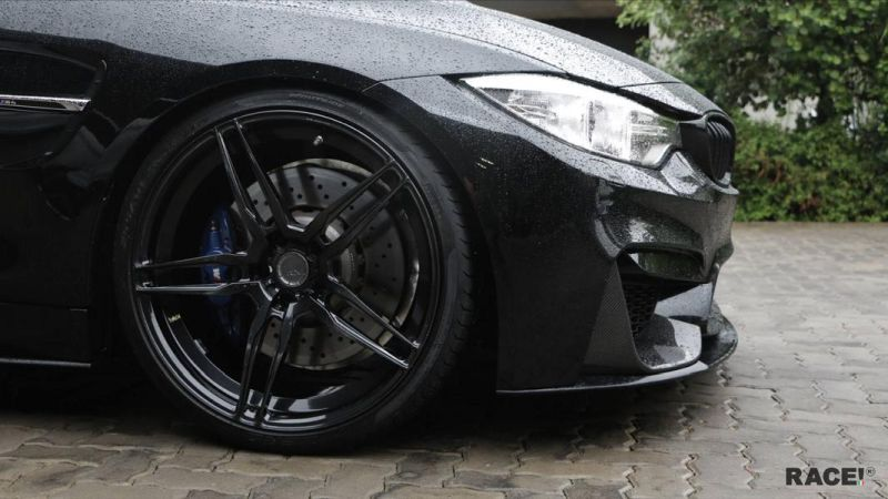 BMW M4 F82 by RACE SOUTH AFRICA Tuning 2 Komplett Schwarz   BMW M4 F82 by RACE! SOUTH AFRICA