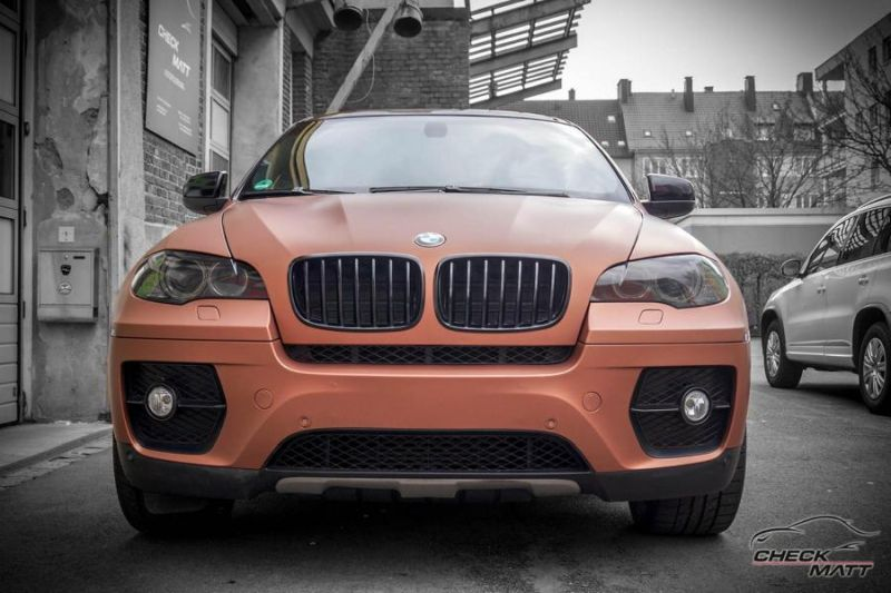 BMW X6 E71 in Braun Metallic by Check Matt Dortmund 1 BMW X6 E71 in Braun Metallic by Check Matt Dortmund