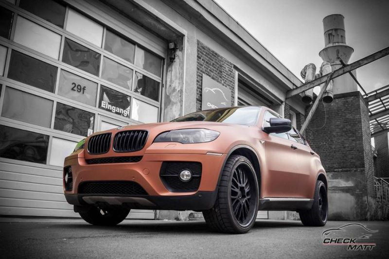 BMW X6 E71 in Braun Metallic by Check Matt Dortmund 2 BMW X6 E71 in Braun Metallic by Check Matt Dortmund