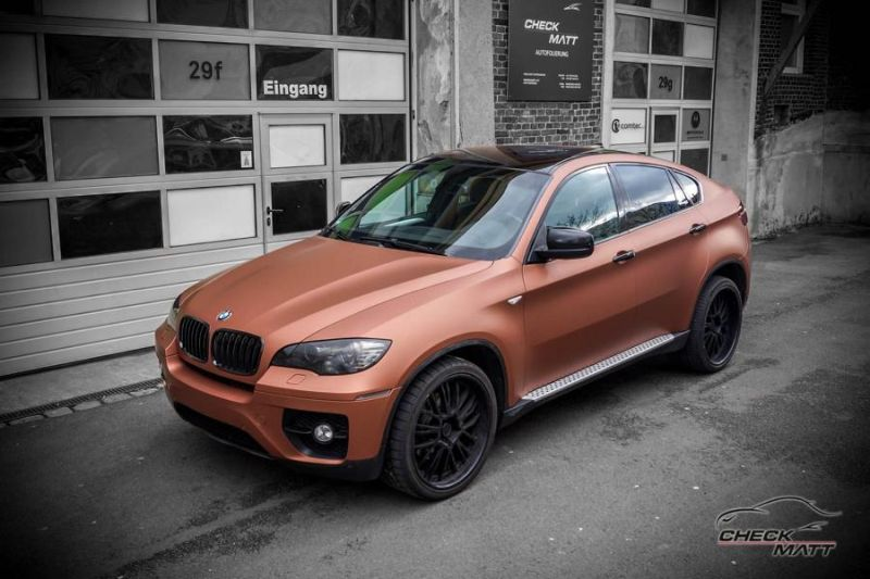 BMW X6 E71 in Braun Metallic by Check Matt Dortmund 3 BMW X6 E71 in Braun Metallic by Check Matt Dortmund
